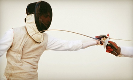 Children's Fencing Courses at Morris Fencing Club in Randolph (Up to 74% Off). Three Options Available.