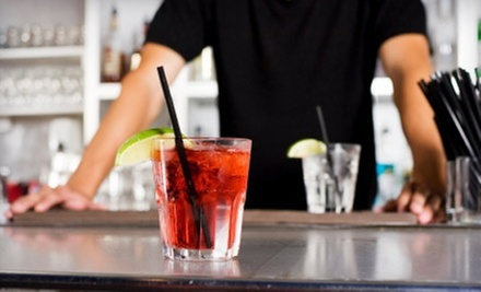 $195 for a 40-Hour Bartender Certification Course at ABC Bartending School ($495 Value)