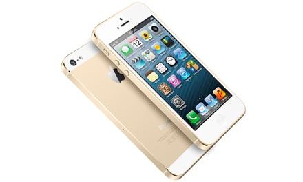 iPhone 5S de 16 ou 32 GB recondicionado e  disponível nas diferentes cores desde 389€