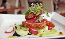 Three-Course Internationally Inspired Dinner with Wine for Two or Four at Thrive (Up to 58% Off)