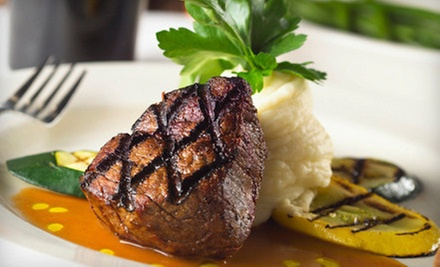 Upscale Steak-House Dinner Fare and Drinks at The Argentina Steakhouse (Half Off)