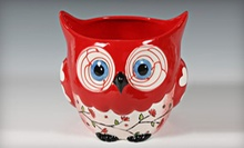 $12 for $24 Worth of Paint-Your-Own Pottery, Glass Fusing, and Mosaic Designing at Seize the Clay