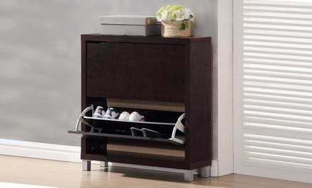 Modern 2-Door Shoe Cabinets