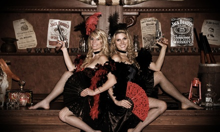 Old Time Photo Shoot for Up to 10 or 16 at Wild Gals Old Time Photo (84% Off)