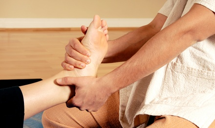 45-Minute Reflexology or Therapeutic Bodywork Session at Valley Massage Therapy (Up to 57% Off)
