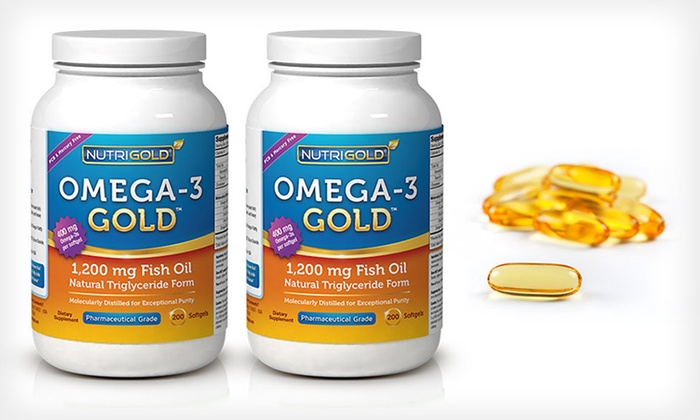 Nutrigold omega 3 gold fish oil deal of the day groupon for Nutrigold fish oil