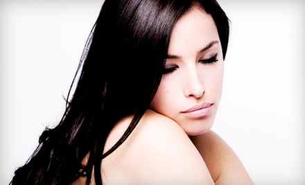 One or Two Keratin Treatments at Anglez Salon (Up to 54% Off)