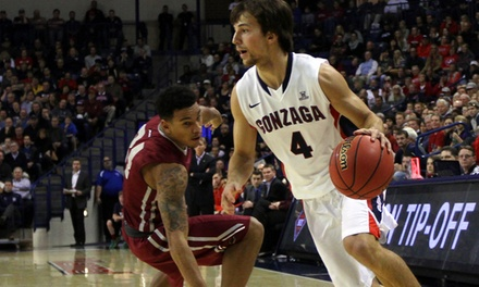 $17.50 for One Ticket to a Gonzaga Men's Basketball Game at KeyArena on Saturday, December 20 ($35.14 Value)