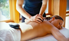 $75 for a Spa Package with a Hot-Stone Massage and a Moisturizing Facial at San Jose Chiro Spa ($180 Value)