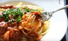 Italian Cuisine for Two or Four at Luigi's Italian Restaurant (Up to 55% Off)