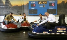 $99 for Whirlyball Outing for 15 with Pizza & Drinks at Joe Dumars' Fieldhouse in Shelby Township (up to $219.85 Value)