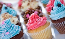 One Dozen Cupcakes or Single-Layer Sheet Cake at Bakers Park (Up to 53% Off)
