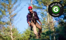 $59 for a Zipline Canopy Tour for Two at The Beanstalk Journey at Catawba Meadows in Morganton (Up to $118 Value)