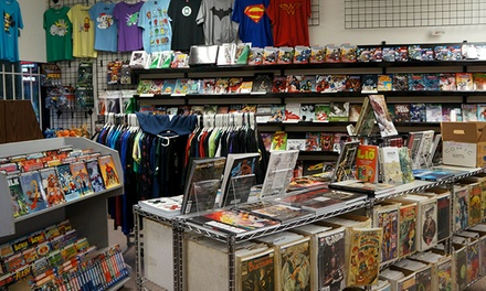 Comics and Collectibles at Comics Dungeon (Up to 52% Off). Two Options Available.