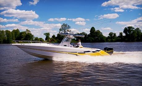 Five Hour Pontoon Or Deck Boat Rental Or Five Hour Ski