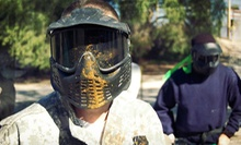 Paintball Package for 1 or Up to 12 with Gear Rentals at Giant Paintball Parks (Up to 68% Off)