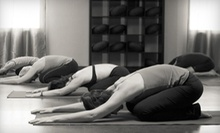 10 or 20 Yoga Classes at Prajna Yoga & Healing Arts (Up to 56% Off)