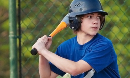 Baseball or Softball Batting-Cage Package for Two or Four at Ultimate Baseball Academy (54% Off)