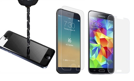 3D Luxe Tempered-Glass Screen Protector for iPhone or Samsung