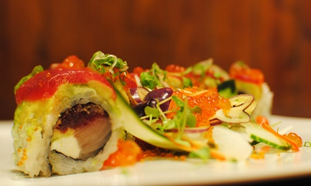 Sushi and Japanese Cuisine for Lunch or Dinner at Tadashi (47% Off)