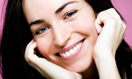 $104 for a Zoom! Teeth Whitening with Exam, Take-Home Trays, and Whitening Gel ($399 Value)
