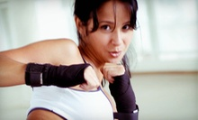 5 or 10 Cardio-Kickboxing or Karate Classes and One Pair of Boxing Gloves at Southampton Martial Arts (Up to 79% Off)