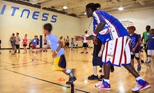 $65 for a Two-Hour Harlem Globetrotters Basketball Clinic, Basketball, and Two Tickets to a 2014 Game (Up to $124 Value)