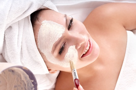Collagen or European Facial, or One or Three Crystal Microdermabrasions at Silk Roses Salon Spa (Up to 57% Off)