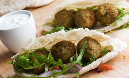 $12 for $20 Worth of Middle Eastern Cuisine at Aladdin's Cafe