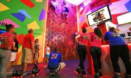 Roller-Skating and Climbing-Wall Package for Two, Four, or Six at Terrace Sports (Up to 71% Off)
