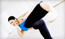 10, 20, or 30 Women's Kickboxing Classes at Women Kickin It (Up to 87% Off)