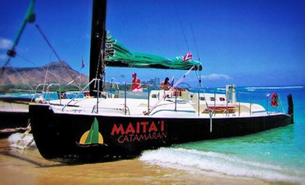 Catamaran Sailing Trip for Two, Four, or Six from Maita`i Catamaran (Up to 51% Off)