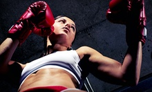 5 or 15 Beginner-Level Boxing Classes at The Punch House (Up to 87% Off)