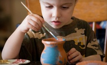 $12 for $25 Worth of Paint-Your-Own Pottery at Plaster Cottage of Clermont