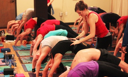 $39 for 30 Days of Unlimited Hot Power Yoga at YogaSport ($150 Value)