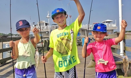 Fishing-Pier Admission for Two or Four from Ocean View Fishing Pier (Up to 50% Off)