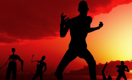 Zombie Target Shooting for Two, Four, or Six at Gun Training School (Up to 69% Off)