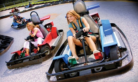 Four-Hour Family-Entertainment-Center Outing for Two or Four at Boomers! (Up to 51% Off)