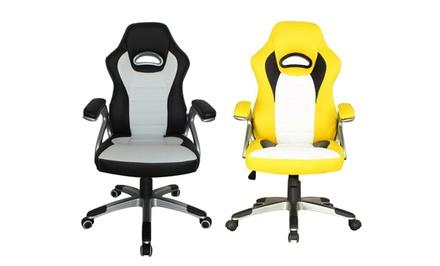 Racecar-Style Office Chair
