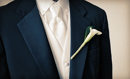 $99 for a Tuxedo Rental for Prom from Valente's Men's Formalwear ($215 Value)