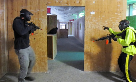 All-Day Airsoft Package with Equipment Rental for Four, Six, or Eight at Xtreme Action Sports (Up to 63% Off)
