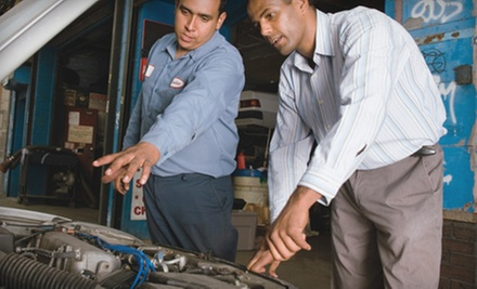 $55 for a Vehicle AC Recharge, Leak Test, and 27-Point Inspection at AAMCO Transmissions of Pineville ($130 Value)