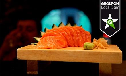 Estado Líquido Sushi Lounge — Santos: jantar de sushi e sashimi para duas ou quatro pessoas desde 29,90€
