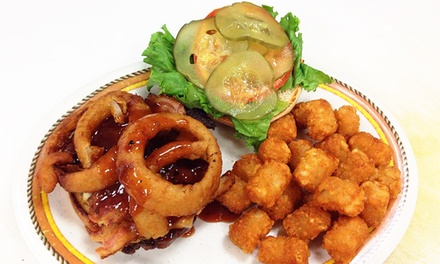 $15 for Two Groupons, Each Good for $15 Worth of Burgers and American Food at Old Stage Grill ($30 Value)