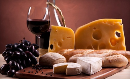Wine-Tasting Package for Two or Four with Cheese Pizzetta and Bottle of Wine at Taste at Oxbow (54% Off)
