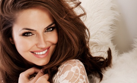 Haircut Package with Optional Partial or Full Highlights at Knock Outs Hair & Body Studio (Up to 51% Off)