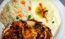 Mediterranean Cuisine at Cafe Delphi Greek and Lebanese Restaurant (Half Off). Two Options Available.