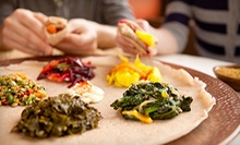 $25 for $50 Worth of Ethiopian Food and Drinks for Two at Sheba Dining in Oakland