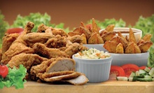 5-Piece Chicken Meal for Two or 10-Piece Feast for Four with Salad, Fries, and Drinks at Mary Brown's (Up to 56% Off)