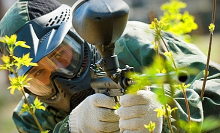 Paintball Package with Equipment and 500 Paintballs Per Person for Two, Four, or Six at Paintball Park (Up to 55% Off)